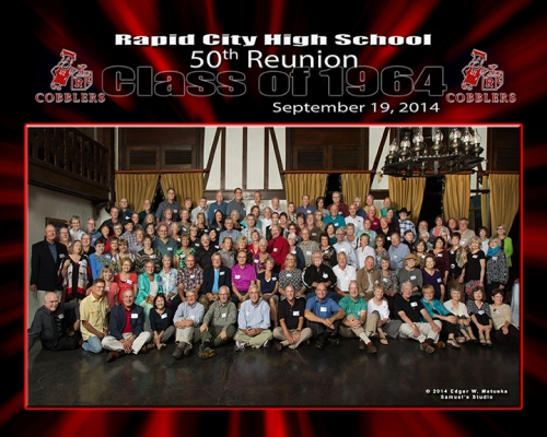 120 Classmates ... What a terrific 50th Reunion!